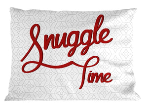 Snuggle Time PILLOW Bedroom Cute Romantic New Home Gift Present Marriage  P22