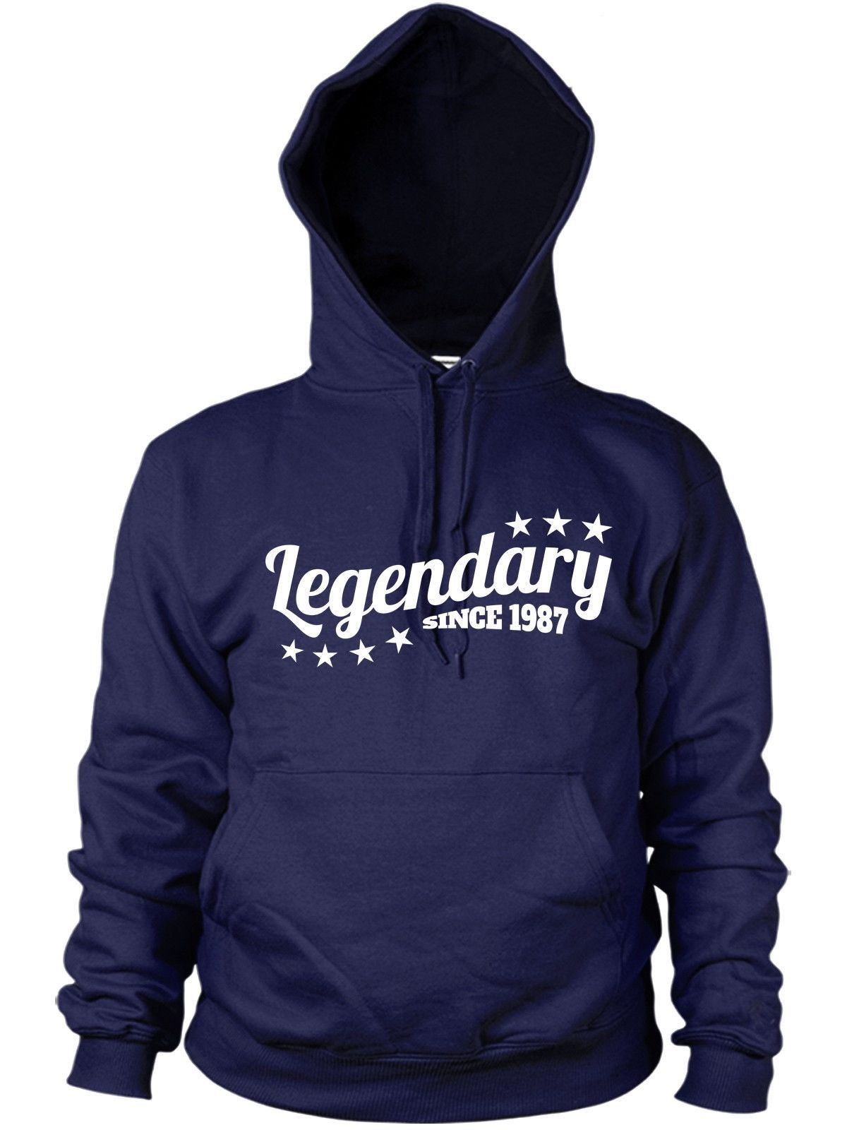 Legendary Since 1987 Hoodie Birthday Gift Years 29 30 Old Legend Men Women Funny Product Image 1