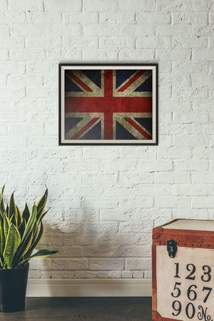 United Kingdom Poster Print UK Photo Britain Print England World Flag Gift PP124