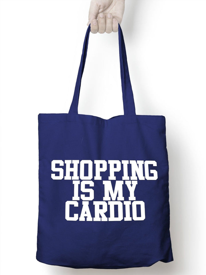 Shopping Is My Cardio Shopping Tote Bag Fitness Shops Girls Gay Present  M11
