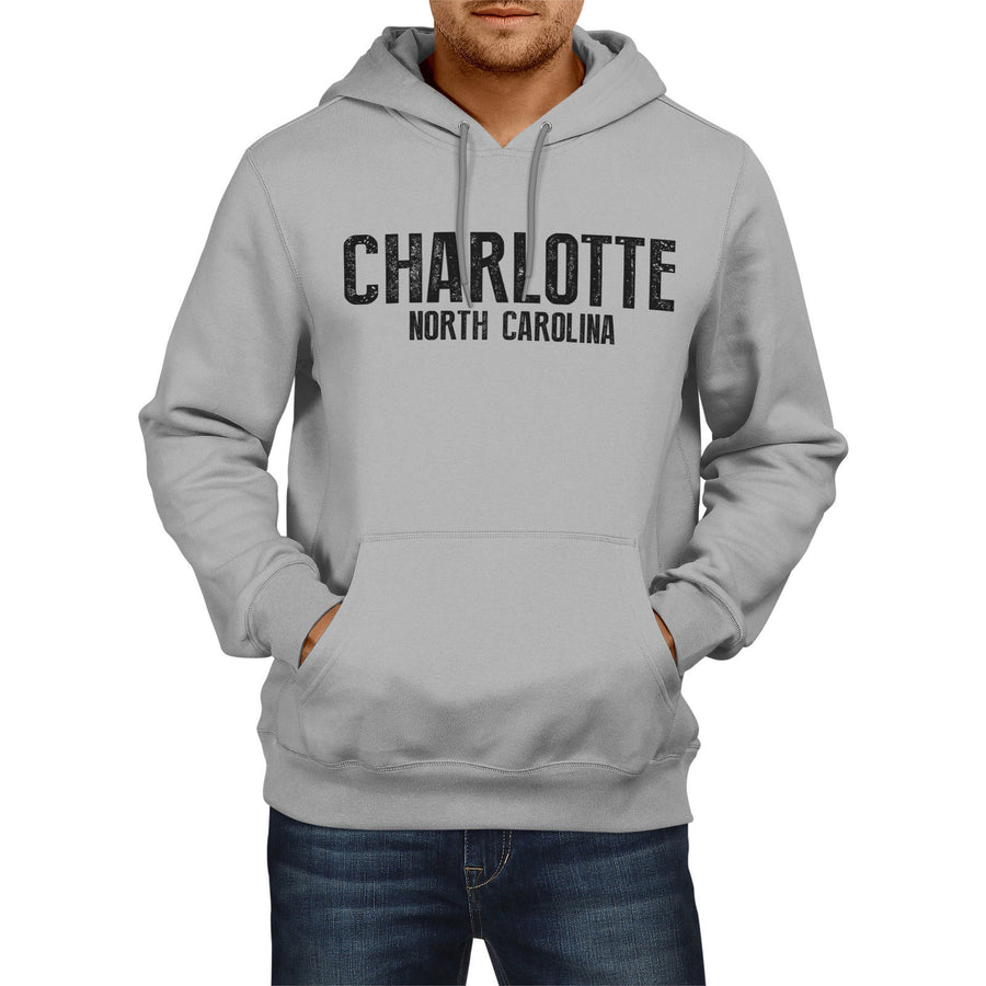 Charlotte North Carolina American State Hoodie USA Mens Womens Boys Girls