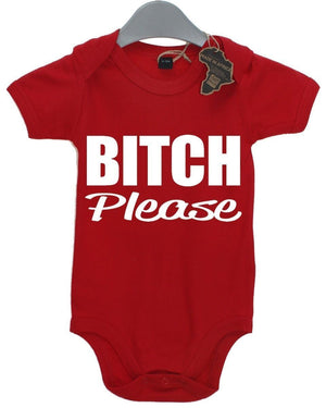 Bitch Please Cute BabyGrow Funny Baby Gift Present Newborn Kid Birthday Vest