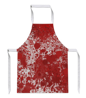 Butchers All Over Halloween Apron Fancy Dress Blood Scary Spooky Death Dead Chef