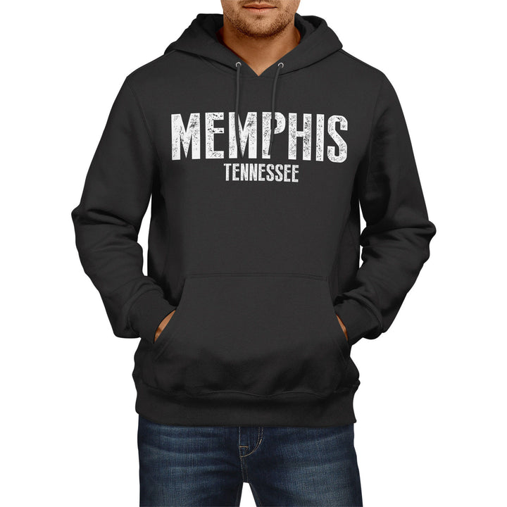 Memphis Tennesse SLOGAN US State City HOODIE Sweater Mens Women America Football
