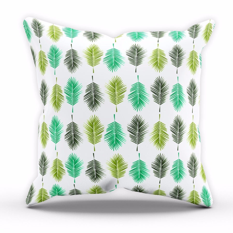 Palm Tree Cushion Leaves Collage Gift Home Decor Home Pillow Bed Linen C1