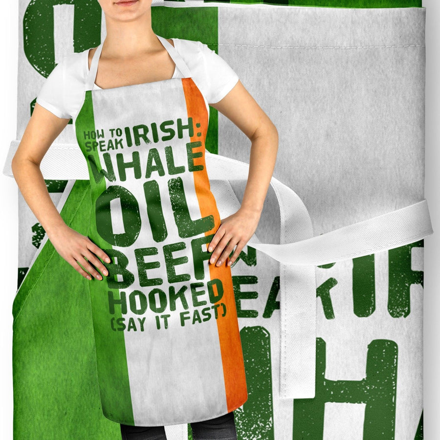 How To Speak Irish Rude Offensive Ireland Apron Bake Off St Patricks Day ST107