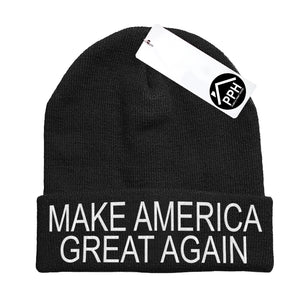 Make America Great Again Beanie Hat Baseball cap Donald Trump Republicans USA