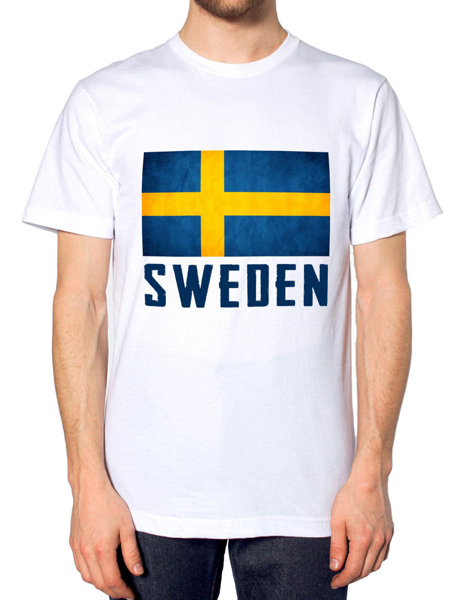 Sweden Mens Nation Tshirt Womens World Cup Top Football Euro Training T Shirt