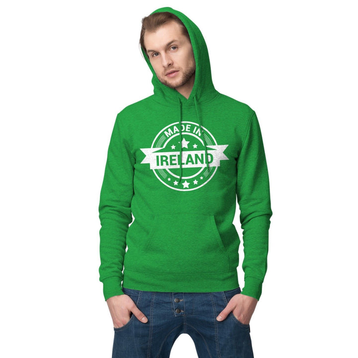 Made In Ireland Hoodie St Patricks Day Gift Top Hoody Sweatshirt T Shirt P36