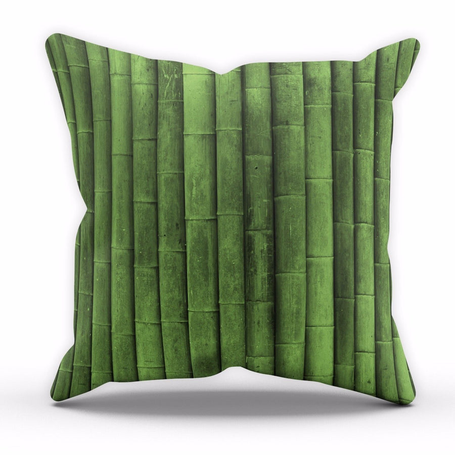 Green Bamboo Cushion Nature Tree Wallpaper Lounge Kitchen Pillow Home Decor C22