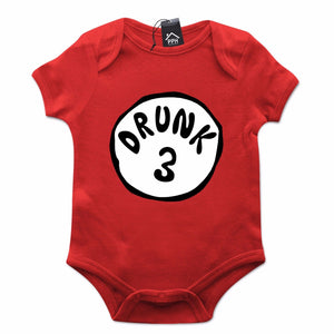 Thing Drunk 1 2 Funny Dr Suess St Patricks Day Baby Grow Gift Babygrow Suit 556