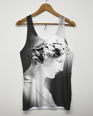 Greek Goddess All Over American Apparel Vest Tank Top Mens Womens Unisex Baggy