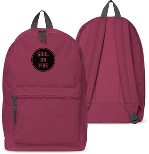 Soul On Fire Back pack Holdall Bag School Hipster Girls Boys Fashion Work 12
