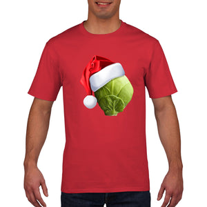 Sprout Hat Funny Christmas T Shirt Men Womens Kids Novelty T-Shirt Santa Gift
