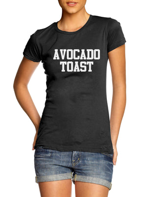 Avocado Toast T Shirt Funny Diet Fitness Model Kale Kourtney Blog Foodie Hungry , Main Colour Black