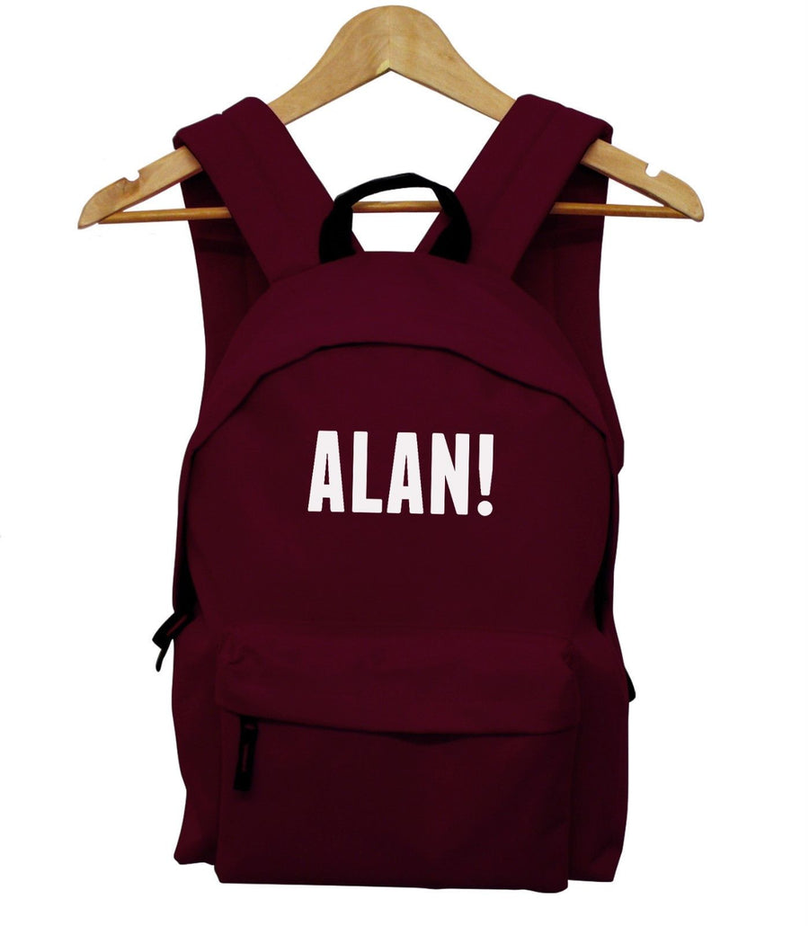 Alan Funny Festival Backpack Stupid V  bag Wireless Reading Leeds Back Pack