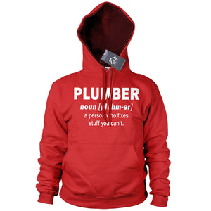 PLUMBER Noun Hoodie Mens Funny Plumbing Sweater Funny Hoody Father Day Gift PT18