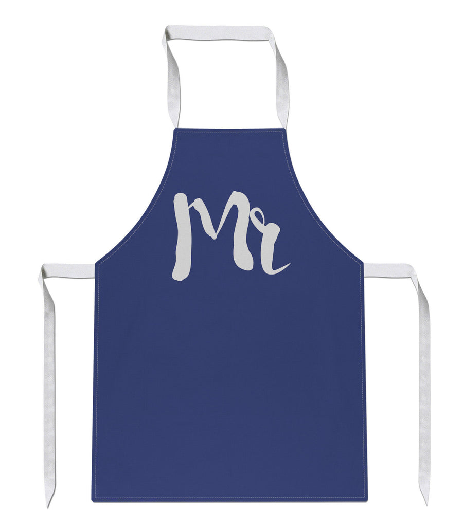 MR AND MRS APRON Cooking Present Gift Civil Partnership Wedding Matching 175