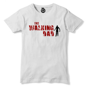 The Walking Dad Fathers Day Zombie Apocalypse Gaming Tshirt Dead Walkers 219