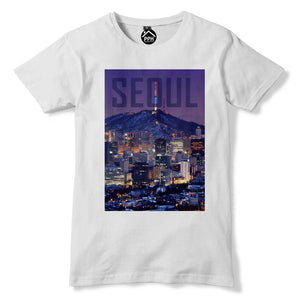Seoul Tshirt South Korea T Shirt Asia Top Cityscape Skyscrapers Dongdaemun 154