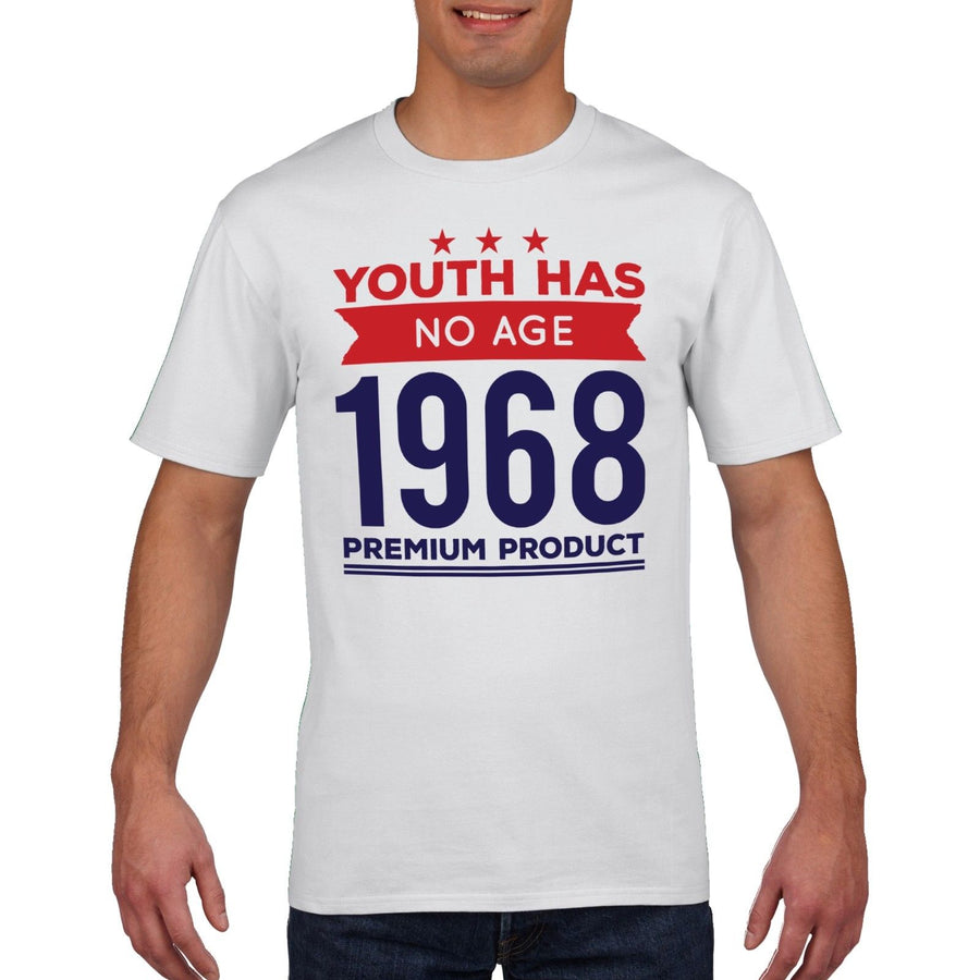 40th 50th 60th Birthday T Shirt Youth Has No Age Fathers Funny Gift Novelty 822