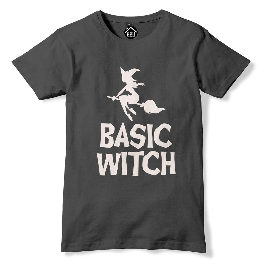Basic Witch Tshirt Hocus Pocus Horror Film Outfit Halloween Top Fancy Dress 336