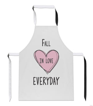 Fall in Love Everyday Valentines Funny Bake Gift Cook Baking APRON Tabard A16