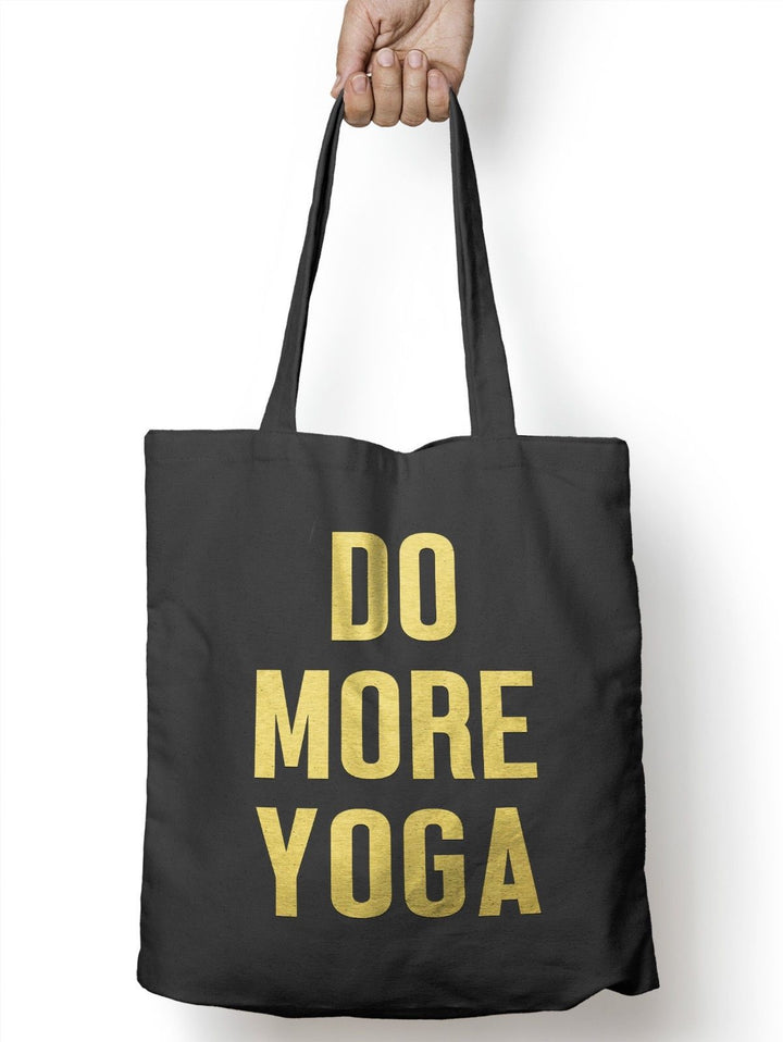 Do More Yoga Gym Weights Funny Tote Bag For Life Shopper Training Shopping E55