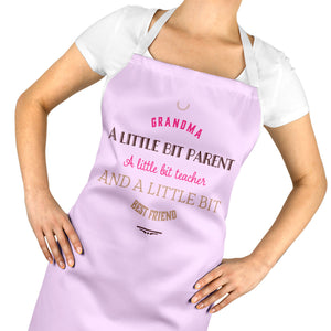Cute Grandma Best Friend Apron - Love Gift Christmas Birthday Mothers Day ST60