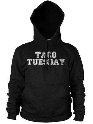 Taco Tuesday Mens Funny Mexican Hoodie Tequila Womens Hoody Top
