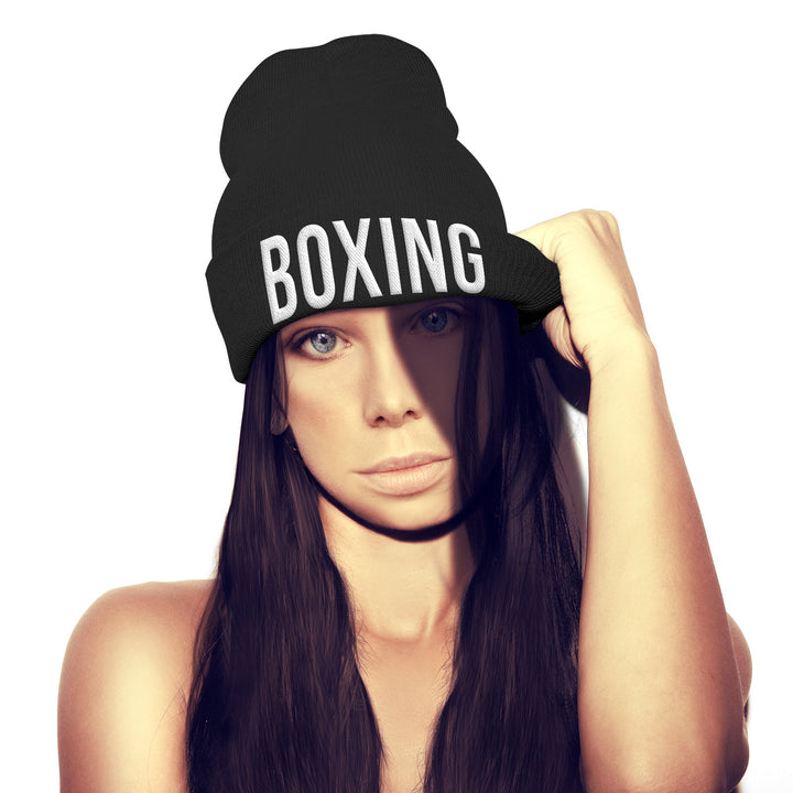 Boxing Beanie Hat training running hat cap Box Camp Gloves Train Beenie hat