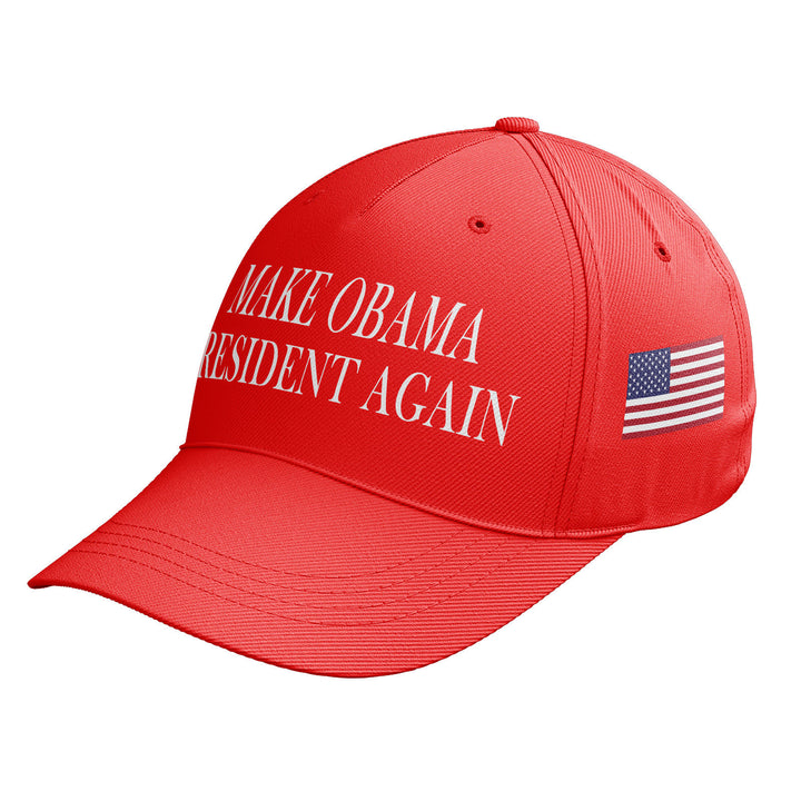 Make OBAMA President Again America Great Baseball Cap Donald Trump Hat USA C8