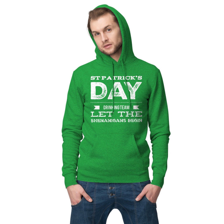 St Patricks Day Hoodie Drinking Team Shenanigans Ireland Hoody Irish T Shirt P29