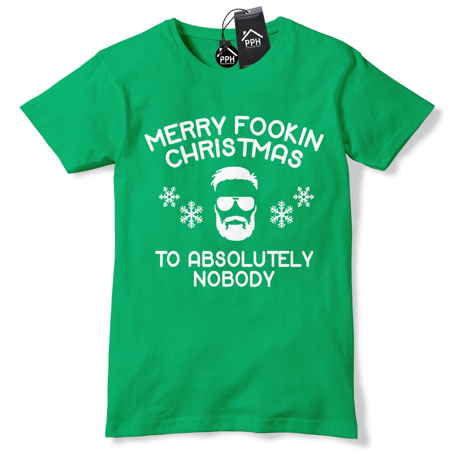 Conor McGregor FACE Apologise to Absolutely Nobody Christmas T shirt MMA CH43