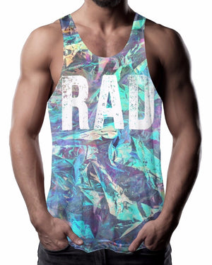 Electric RAD all over Vest Bright Summer Vest Top Tank Skate Radical Surf Surfing V29