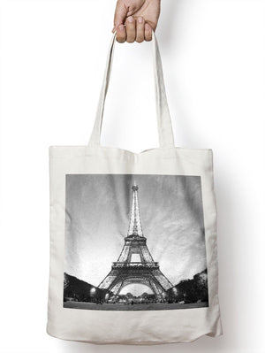 Eiffel Tower Paris France Tote Shopper Bag For Life Shopping Landmark E60