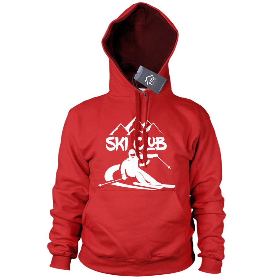 Ski Club Alpine Skiing Hoody Mens Womens shirt Ski Snowboard Gift Hoodie Top 497