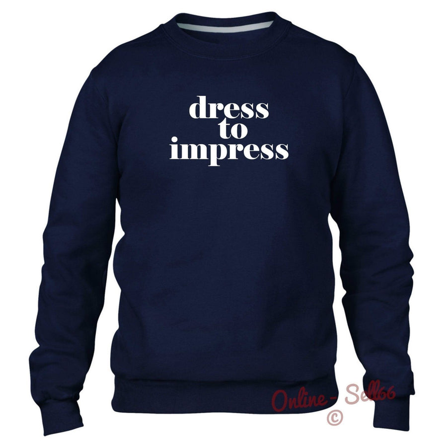 Dress To Impress Sweater Baggy Fashion Clothing Indie Fashion Hipster Women Kids