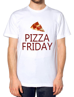 Pizza Friday Pepperoni Funny Mens Tshirt Hipster Food T Shirt Womens
