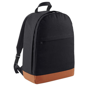 Fashion FRESHMAN Backpack School Train Gym Bag Street Retro All Colours Black