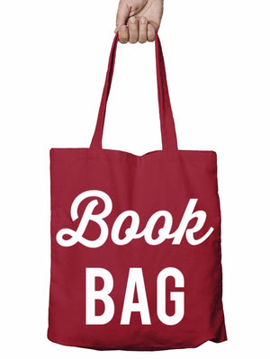 Book Bag Funny Shopper Tote Bag Reusable Library Gift Shopping Xmas School T10