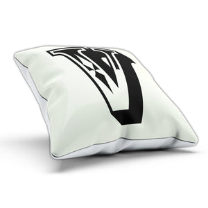 V Rose Letter Cushion Pillow Personalised Gift Present Birthday New Home Furnish