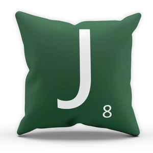 Scrabble Alphabet Letters Cushion Pillow Case Insert Home Funny Brand New Bed
