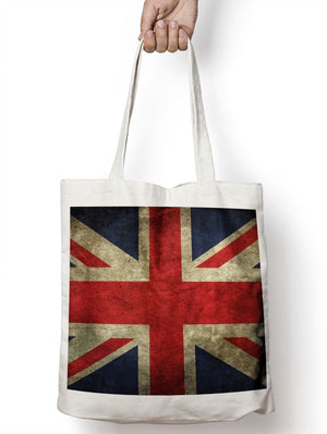 Union Jack Britain Queen King Tote Shopper Bag For Life Shopping E80