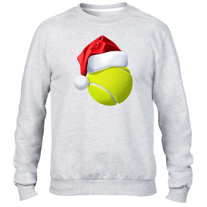 Tennis Ball Christmas Hat Sweater Santa XMAS Kids Children Mens Festive Sport