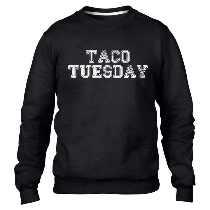 Taco Tuesday Mens Funny Mexican Sweater Tequila Womens Sweatshirt Top Jumper