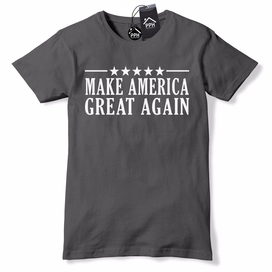 Stars Stripes Make America Great Again T Shirt Election Baseball Cap Tshirt 474