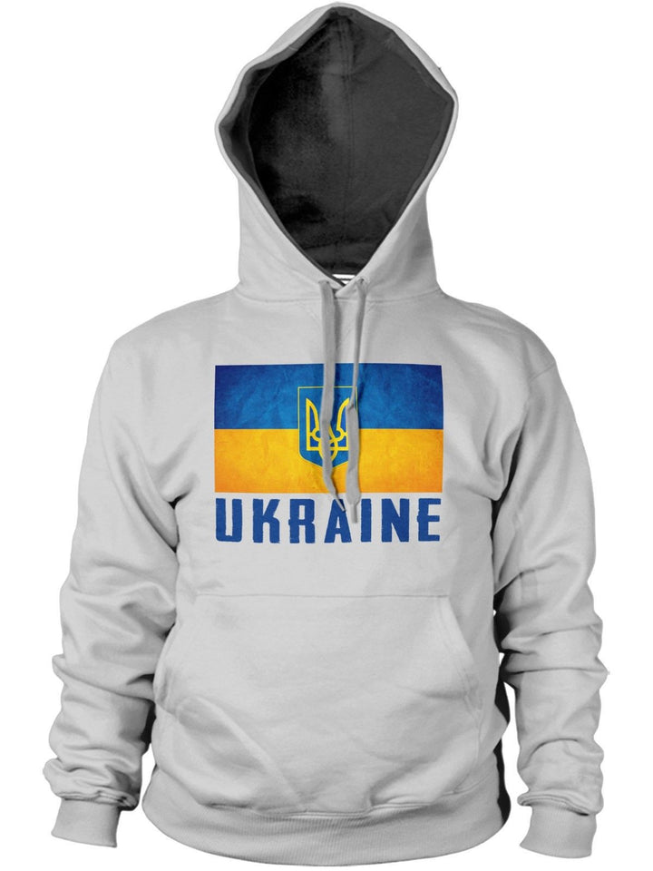 Ukraine Support  Mens Love Euro Hoodie Training Top Football World Cup Hoody