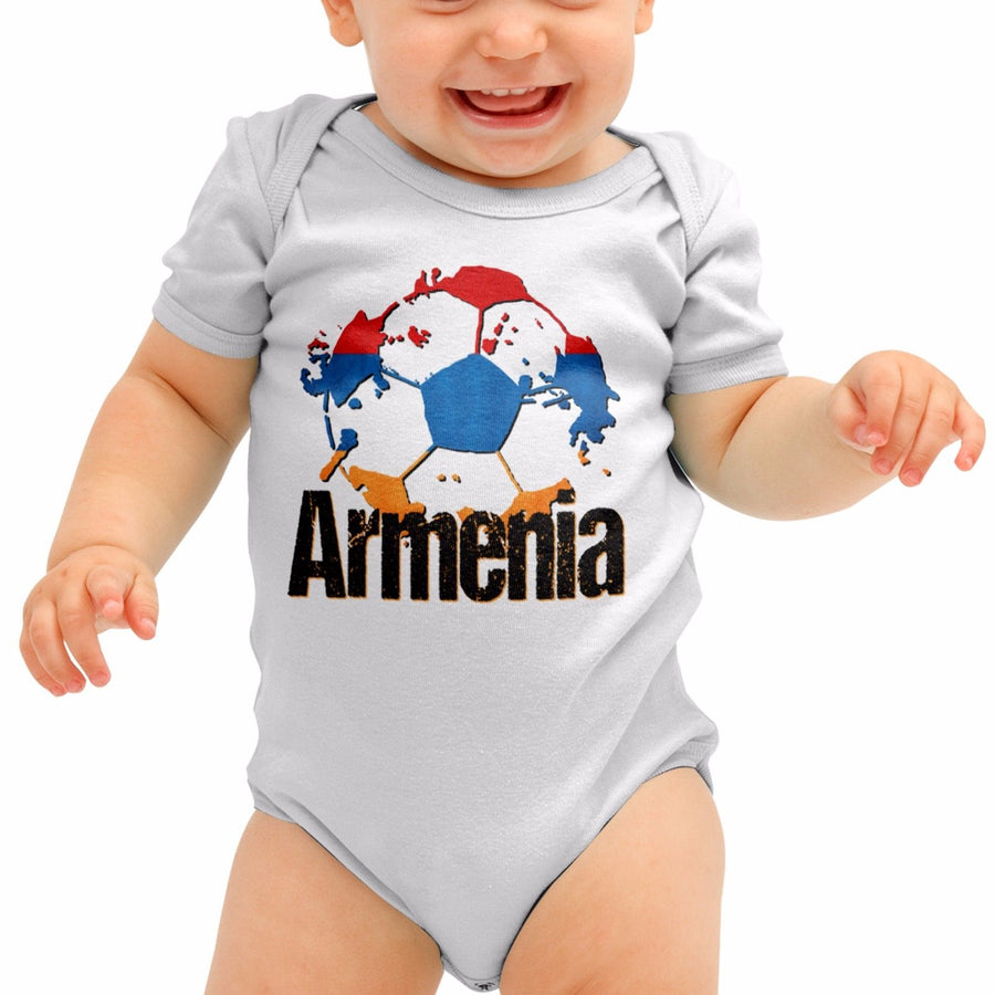 Armenia Football Shirt Euro Baby Grow Boys Babygrow Romper Suit Gift Body B40