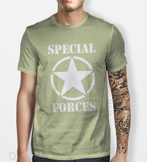 Special Forces Tshirt Mens Womens Shirt Tee Swag Hipster Army Camo Shooter Navy